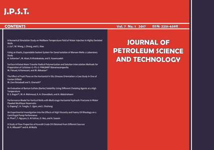 Journal of Petroleum Science and Technology